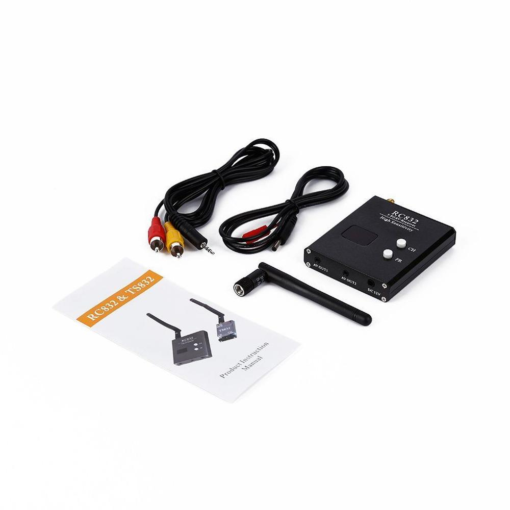 Image 3 - High quality RC832 Boscam FPV 5.8G 48CH Wireless AV Receiver for RC Drones monitor FPV Transmitter Quadcopter DIY Spare PartsParts & Accessories   -