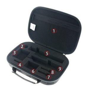 Image 4 - الأصلي يي كاميرا تخزين حقيبة مقاوم للماء التمويه إيفا حقيبة حافظة ل شاومي يي 4k/Gopro بطل 5 4/SJCAM SJ6 SJ7 اكسسوارات