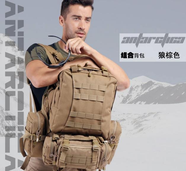 New Field Outdoor Molle Military Tactical Rucksack Backpack Camping Hiking Tactical Backpack new arrival 38l military tactical backpack 500d molle rucksacks outdoor sport camping trekking bag backpacks cl5 0070