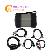 MB Star Diagnosis C3 Multiplexer with 5 Cables for Cars and Trucks Free Shipping