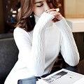 Осень Зима Женщины Свитера И Пуловеры Мода Длинным Рукавом Водолазки Трикотажные Пуловеры Женщин