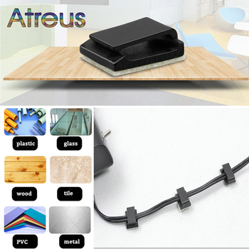 Car Styling GPS Data Cable Decorative Cord Fixed Clips for Ford Focus 2 3 mk2 Fiesta Fusion VW Polo Golf 4 6 5 MK4 Passat B5 B6 image