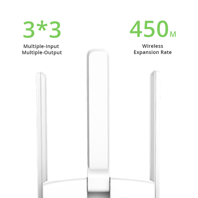 TP-link Wifi Extender Wireless Range Extender Expander 450Mbps Wifi Signal Amplifier Repeater three antennas 5