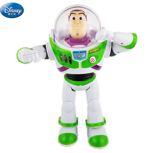 Большая игрушка Базз Лайтер фигурки Куклы Дисней История игрушек звук и свет может ходить фигурки Куклы