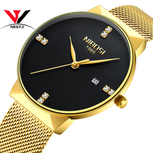 купить NIBOSI Watches Women Fashion Watch 2018 Luxury Brand Watches Women Quartz Wrist Watch Montre Femme 2018 Relogio Feminino дешево