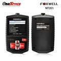 Obd2 explorador automotor foxwell nt201 multilingüe escáner de diagnóstico obd obd2 eobd código lectores update scan tool envío gratis