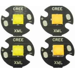 Image 1 - 5PCS 10W 12V 1A tdled Ceramic 5050 Cold White Warm White High Power LED Emitter Diode instead of CREE XML XM L T6 LED for DIY