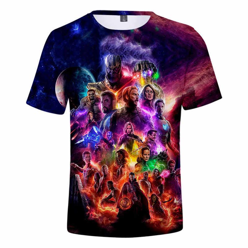 Мстители 4 футболка супергерой эндигра Косплей Костюм сетчатая ткань спортивные мужские футболки топы тройник эндгейм квантовое царство