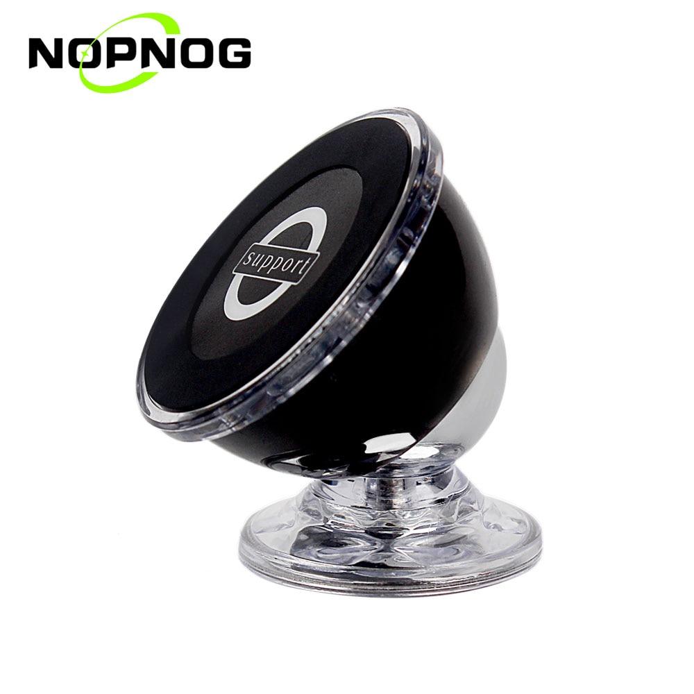 NOPNOG Magnetic Phone Holder Support font b GPS b font 360 Degrees Rotation Interior Accessories Mount