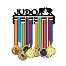 DDJOPH huy chương móc áo JUDO Thể Thao Huy chương móc treo JUDO huy chương giá đỡ Huy Chương hiển thị giá