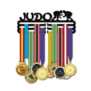 Image 1 - DDJOPH メダルハンガーため柔道スポーツメダルハンガー柔道メダルホルダーメダルディスプレイラック