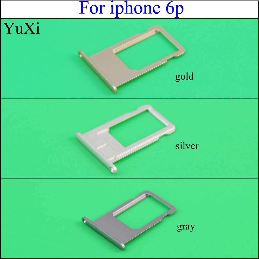 YuXi Nano SIM Card Replacement Tray Adapter Slot Holder for Apple iPhone 6P