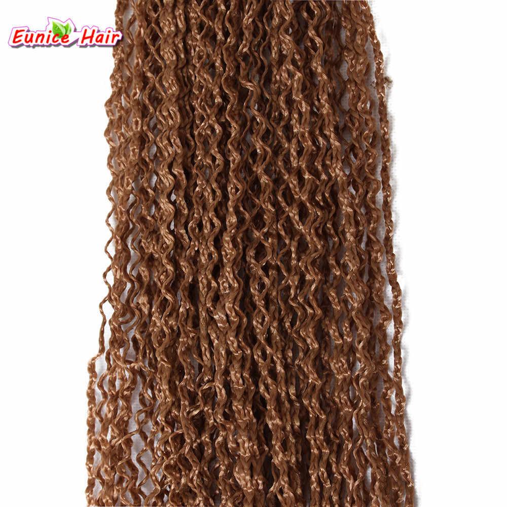Россия длинные 28 дюймов вьющиеся Zizi коробка оплетка твист волосы блонд черный # 99J #60 вязание крючком Senegalse твист оплетки для наращивания волос