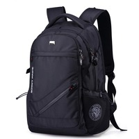 New Fashion Swiss Backpack Casual USB Charging Laptop Backpack Waterproof Travel Bag
