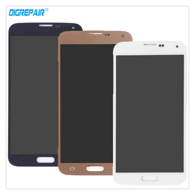 Black/Gold/White For Samsung Galaxy S5 Neo SM-G903F LCD Display Digitizer Touch Screen Assembly Replacement Parts, Free shipping