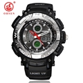 2017 New OHSEN Brand Men Boy Sports Watches LED Digital Military Watch Casual Outdoor Swim Dress Wristwatch Relogios Masculinos