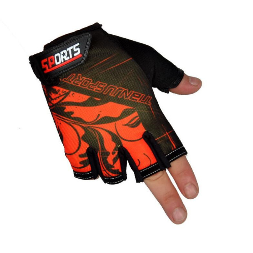 Men Women Bike Mountain Cycling Tactical Glove Summer Bicycle Gym Sports Gloves Half Finger Anti Slip MTB Ciclismo Glove G081 in Cycling Gloves from Sports Entertainment