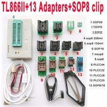 V7 35 XGecu TL866II tl866 ii Plus usb programmer 13 adapter socket SOP8 clip 1 8V