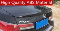 For Honda Accord Spoiler High Quality ABS Material Car Rear Wing Primer Color Rear Spoiler Special spoiler 2007 2012