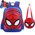 Boys Girls Primary School Children Kids Backpack 3D Spider Man Kids Cartoon Kindergarten Student Backpacks Daypack Mochila