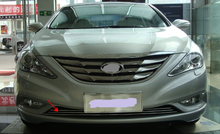 Car Styling Accessories Front Grille Around Trim Head Grill For Hyundai Sonata 2017 In Racing Grills From Automobiles Motorcycles On