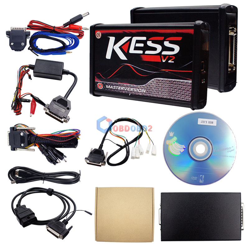 Details about New RED KESS V2 V5 017 EU Master Online 100% No Tokens Free  Ship DHL + 4 Gifts O