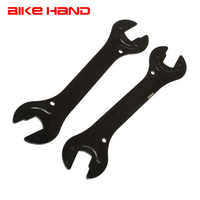 2PC Bicycle Repair Tools 13/15/14/16mm Bicycle Steel Bike Head Open End Axle Hub Cone Wrench Spanner Bicycle Multifunction Tools