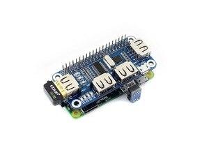 Image 4 - Waveshare convertisseur USB vers UART, 4 ports USB pour Raspberry Pi 2B/3B/3B +/Zero/Zero W, compatible avec USB 2.0/1.1