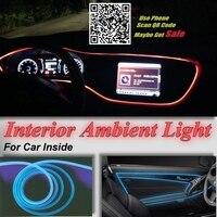 Для Hyundai Sonata EF NF YF LF 1998-2014 салона окружающего освещения внутри автомобиля круто полосы света оптический волокно группа