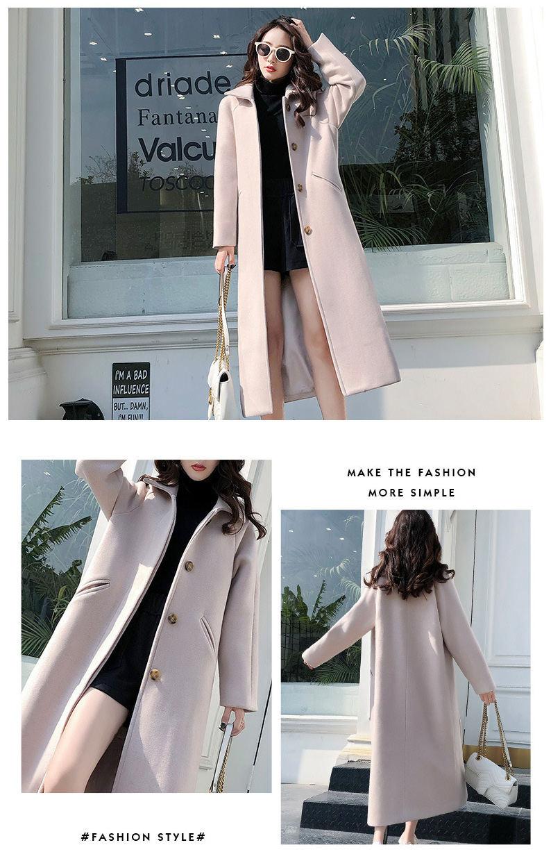 Fashion Winter Trench Coat For Women Long Coat Women Plus Size lingerie manteau femme hiver abrigos mujer invierno 18 6