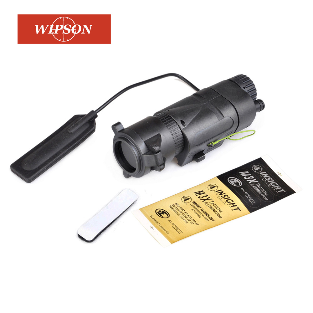 WIPSON L-3 Warrior Systems Flash light M3X Tactical pasystem Illuminator Long new Version Tactical torch WPEX175 WIPSON L-3 Warrior Systems Flash light M3X Tactical pasystem Illuminator Long new Version Tactical torch WPEX175