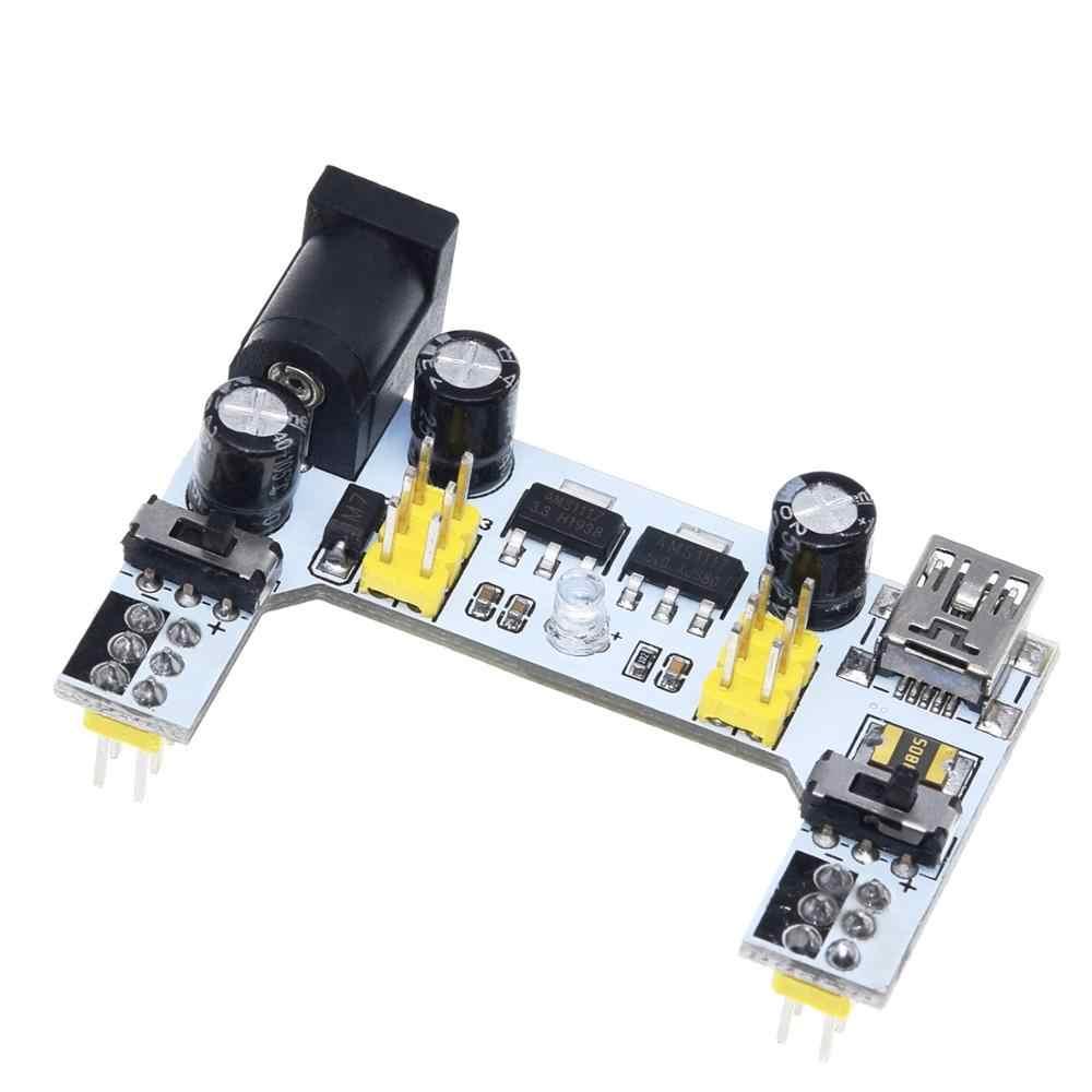 MB102 макетная плата модуль питания/MB102 белый макетная плата выделенный модуль питания 2-way 3,3 V 5V MB-102 макетная плата без пайки