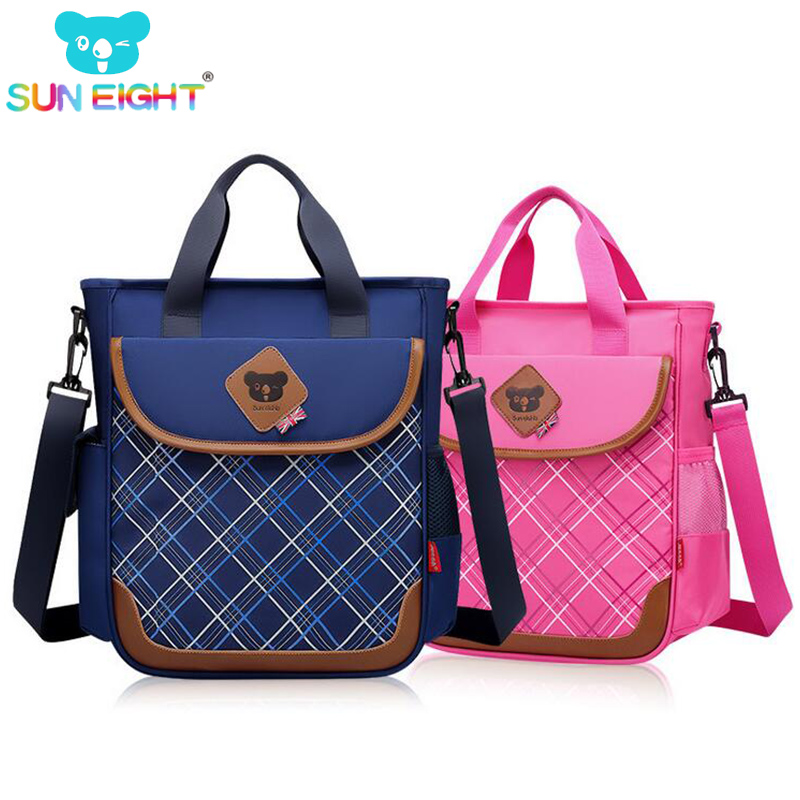 SUN EIGHT Unisex Kid Bags Fashion Study Handbag School Bag Kid Messenger Bags Children F ...