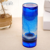 Double Headed Volcanic Eruption Hourglass Liquid Oil Drop Ornaments Lovely Personality Creative Ornaments Send Men And