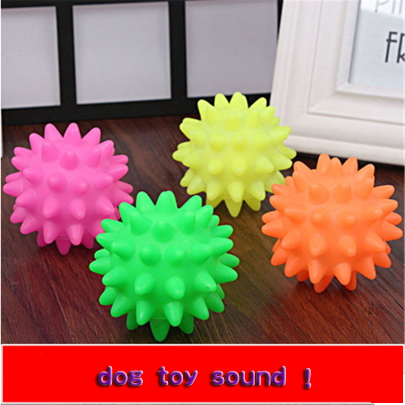 Pet Gel HOT Toys Ball Soccer Dogs Bal And Cats Giocattoli Per Animali Ball For Dog Balls Large Pet Cat Games Thrower DDMX00