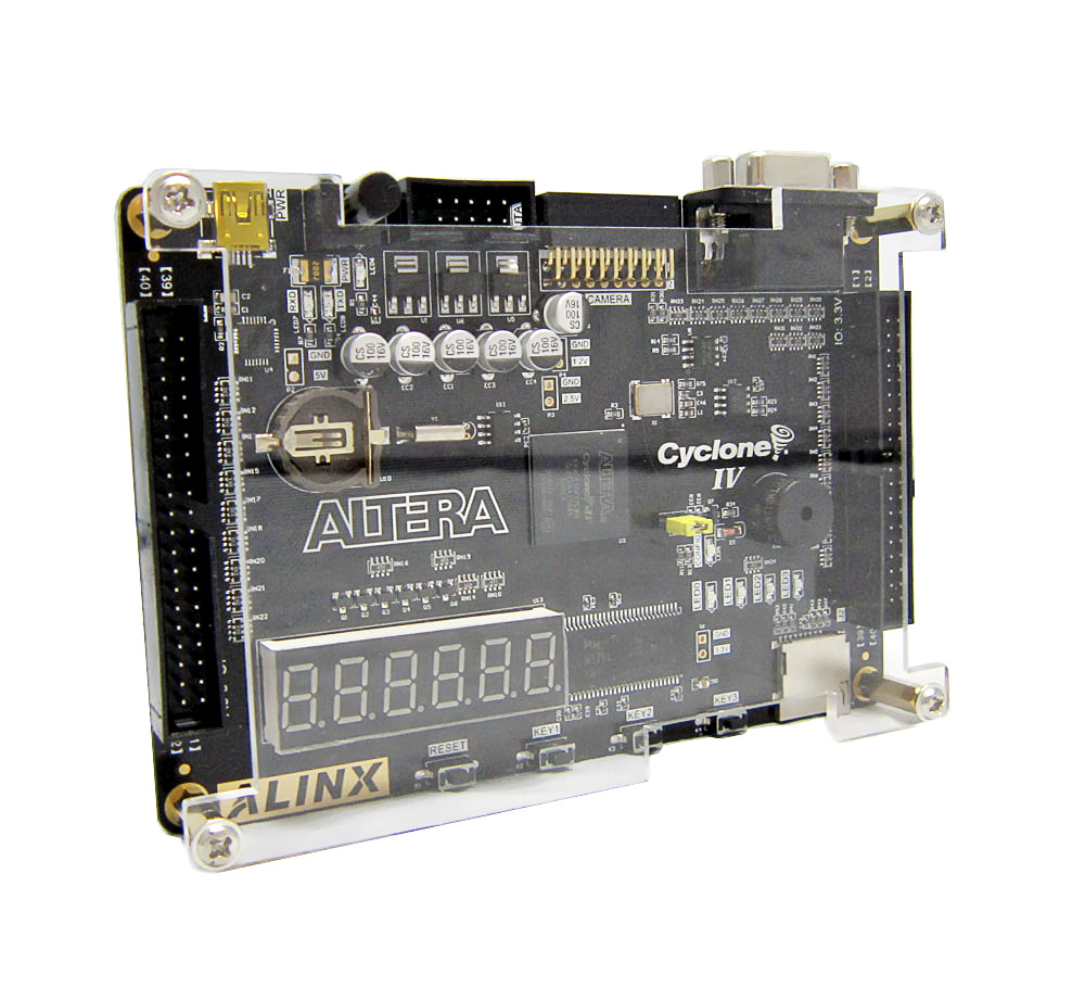 Latest Version Altera EP4CE10 FPGA Development Board with 256M SDRAM 16M SPI