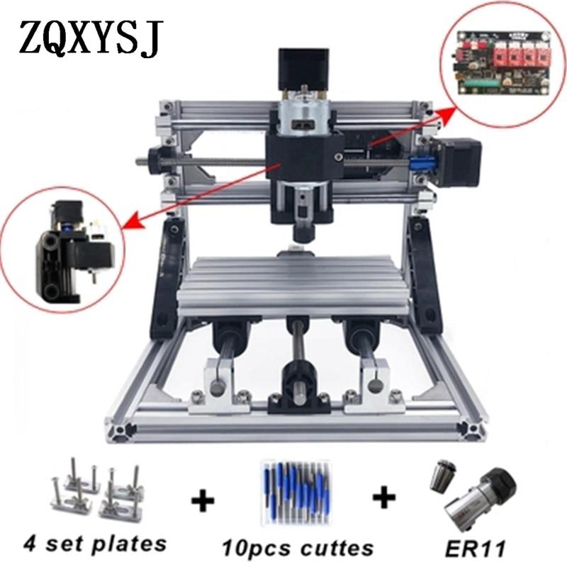CNC 1610 mini machine de gravure laser machine de gravure CNC machine de gravure trois axes machine de gravure pièces en acier céramique