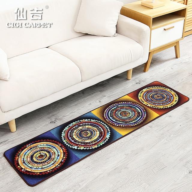 L Iicg Moderne Style Folklorique Chinois Mode Long Tapis De Chambre