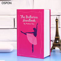 OSPON Book Safes Simulation Dictionary Secret Book Safe Creative Money Cash Jewelry Storage Collection Box Security