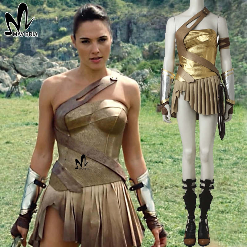 Wonder Woman Diana Prince costume cosplay Halloween costumes for woman Justice League Wonder ...