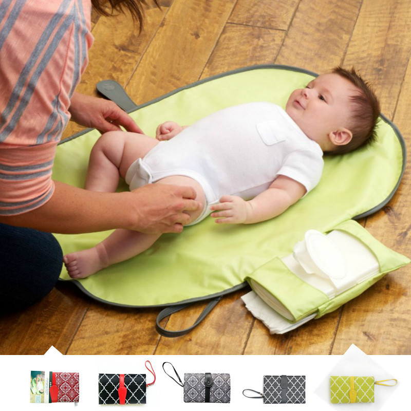 Portable Baby Changing Pad Diaper Changing Mat Nappy Travel Changing Station Diapering Changer Baby Mattress Mesa Aankleedkussen