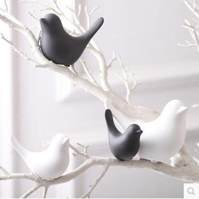 Bird crafts, home decorations, desktop accessories, creative wedding decoration small gifts 1