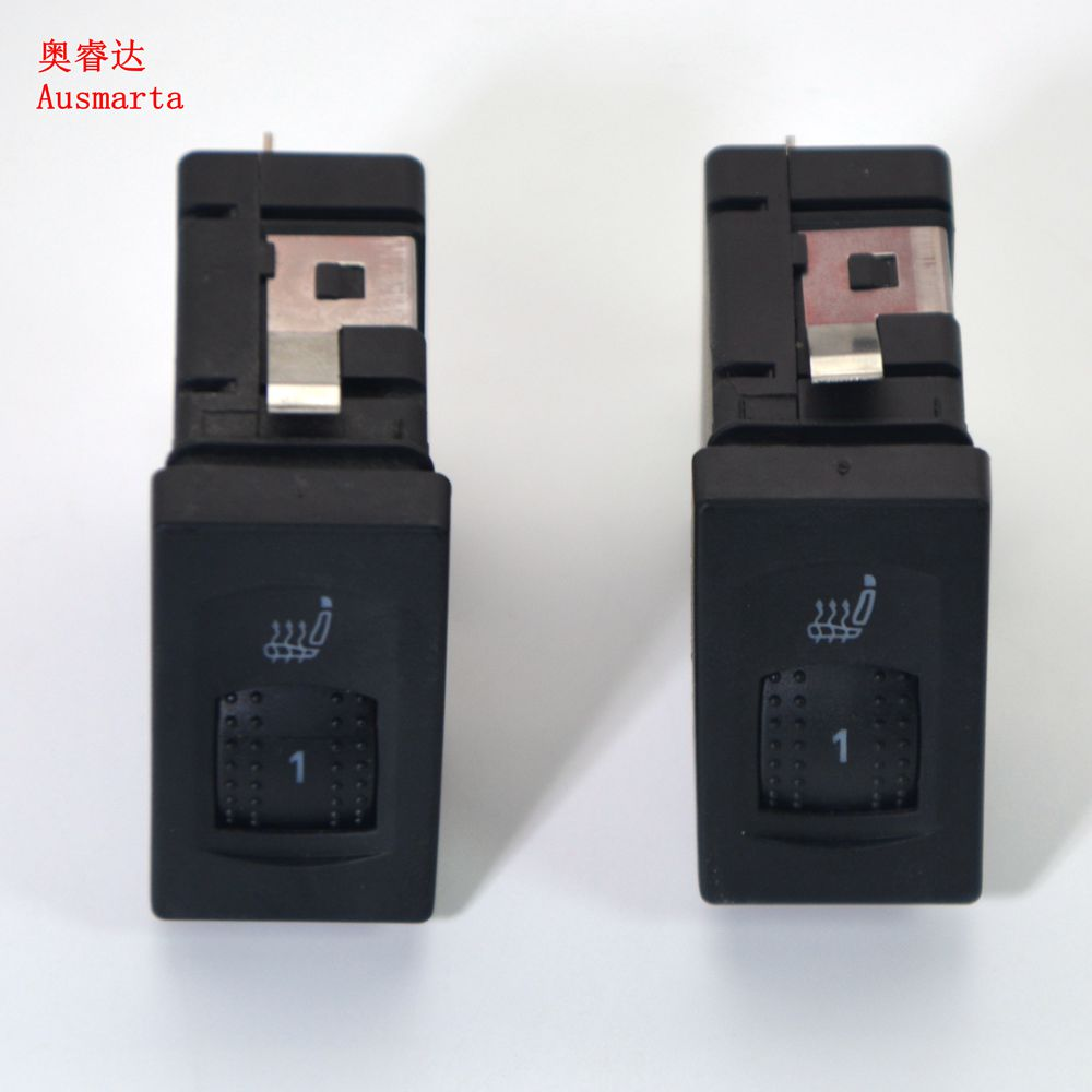 OEM 2 pièces Siège Chauffant Interrupteur Droit & gauche VW B5 Passat 1998-2005 3B0963564C 3B0 963 564 C 3B0963563C 3B0 963 563 C