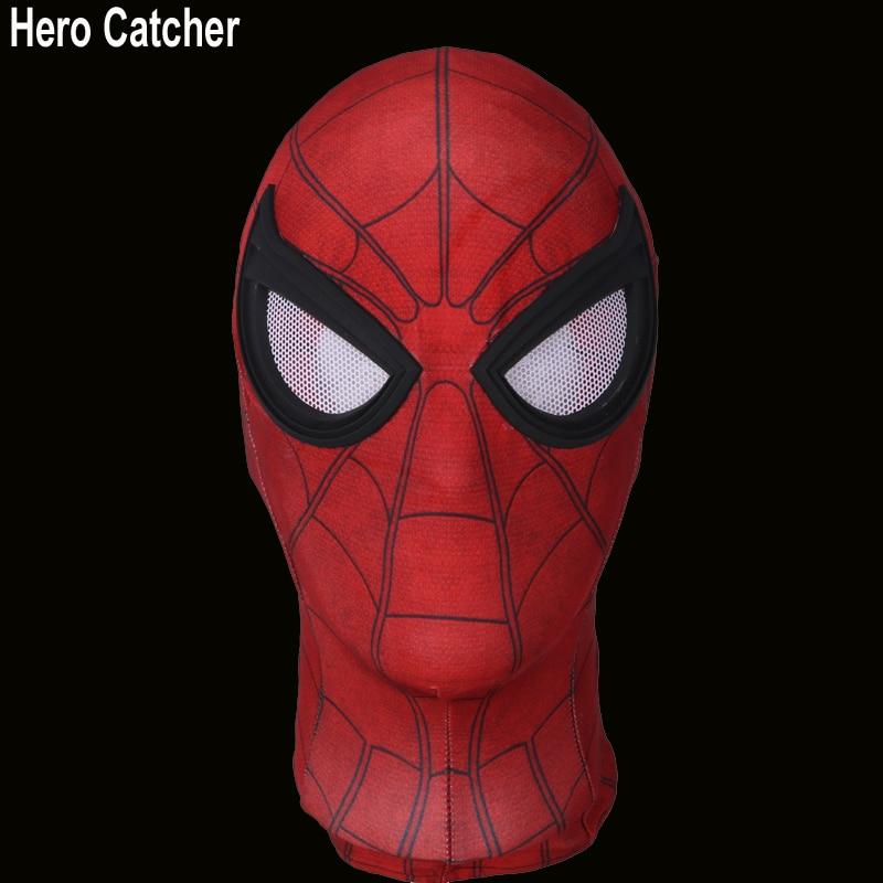 Hero Catcher New Spiderman Homecoming Mask Tom Holland