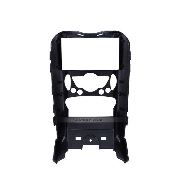 Seicane-cadre dinstallation panneau lecteur DVD   Autoradio, Fascia 178*100mm 2 din, pour BMW Mini Cooper R55 R56 R57