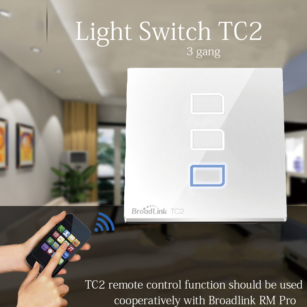 Broadlink Digital Wireless Remote Control Wifi Wall Light Touch Wiring A Timer Switch Smart Home Electrical Work With Pro In Switches From Lights
