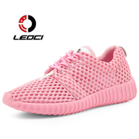 2017 Sneakers Women Shoes Breathable Summer Running Shoes For Women Sports Shoes Mesh Outdoor Non Slip