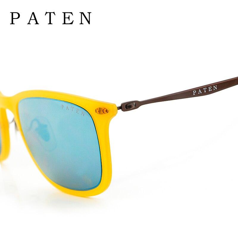 31fbb56c09 Marcas de Gafas italianas Tintado De Color Bronce Espejo Amarillo gafas de  Sol Baratas Las Mujeres Del Verano de La Vendimia de La Manera gafas de Sol  UV400 ...