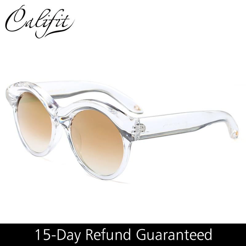 CALIFIT Gafas de sol con montura transparente Mujeres de tonos - Accesorios para la ropa