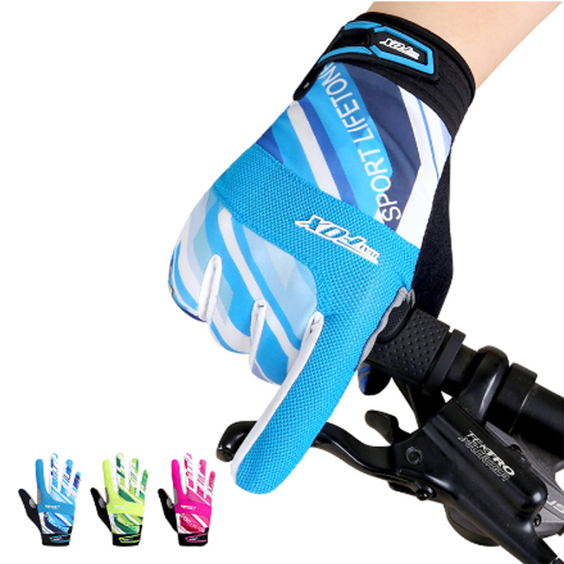 A07 Free Shipping Outdoor Sports Mountaineering Riding Motorcycle Racing Glove Bike Cross Country Riding Long Gloves